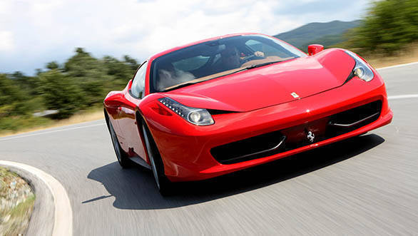 Ferrari 458 My Poster Car Overdrive