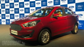 2018 Ford Aspire sedan launched in India, variants explained