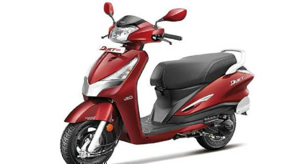 Hero Destini 125cc scooter to launch on October 22