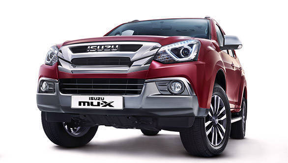 Refreshed Isuzu MU-X SUV launched in India at Rs 26.26 lakh