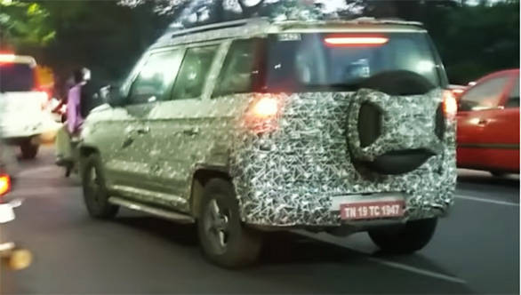 Mahindra TUV300 facelift in the works, launch next year