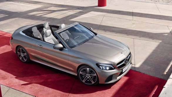 Mercedes-Benz C 300 Cabriolet launched at Rs 65.25 lakh
