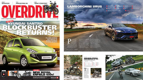 The November 2018 issue of OVERDRIVE is now out on stands!