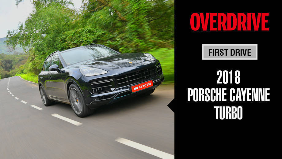 2018 Porsche Cayenne Turbo | First Drive Review