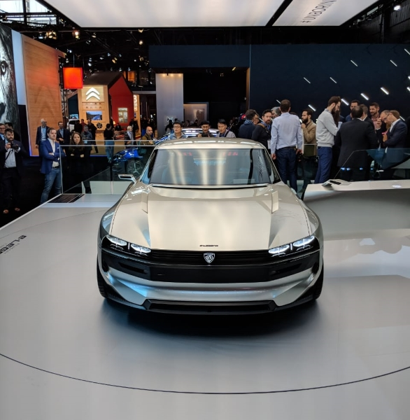 Image Gallery Peugeot Unveils The E Legend Concept At The 2018