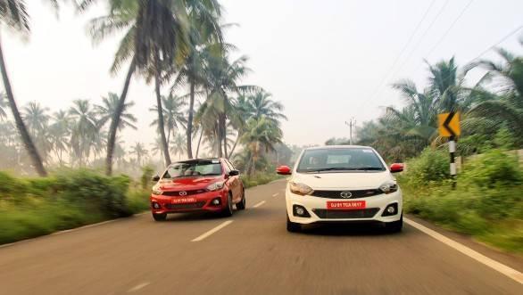 Spec Comparo: Tata Tigor JTP v Tata Tiago JTP v Maruti Baleno RS vs VW Polo GT TSI