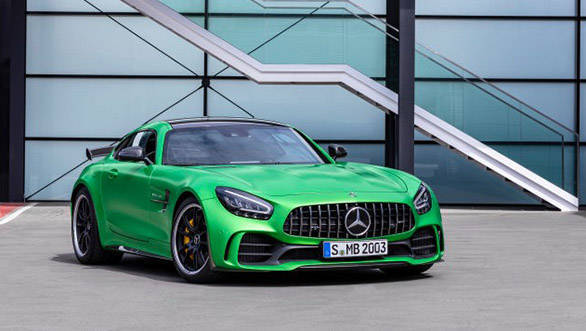 Mercedes-AMG GT R Pro unveiled at the 2018 LA Auto Show
