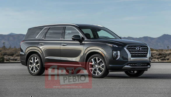 2018 LA Motor Show: Hyundai Palisade three-row SUV leaked ahead of official reveal