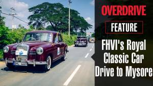 Feature - FHVI's Royal Classic Car Drive to Mysore