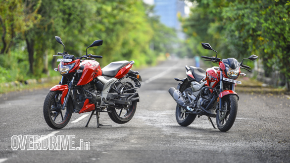 Phenomenal Hero Xtreme 200R Vs Tvs Apache Rtr 160 4V Comparison Test Gmtry Best Dining Table And Chair Ideas Images Gmtryco