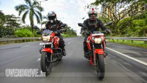 Hero Xtreme 200R vs TVS Apache RTR 160 4v comparison test