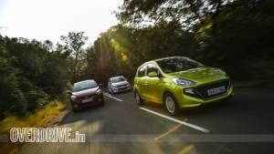 Comparison test: Hyundai Santro AMT vs Maruti Suzuki Celerio AMT vs Tata Tiago AMT
