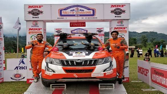 INRC 2018: Mahindra Adventure's Amittrajit Ghosh and Ashwin Naik win Rally of Arunachal