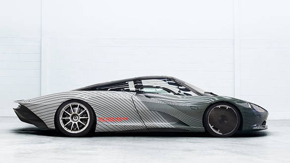 McLaren Speedtail testing begins before 2020 deliveries