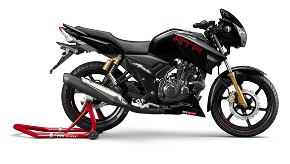 TVS Apache RTR 180 on sale in India for reference