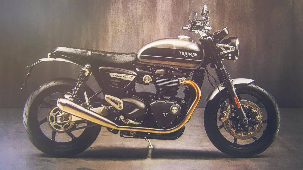 Breaking 2019 Triumph Speed Twin To Launch In India Next Year