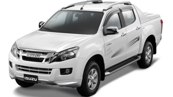 Isuzu D-Max V-Cross now available with the limited run 'Jonty Rhodes Limited 30' package for Rs 1.99 lakh