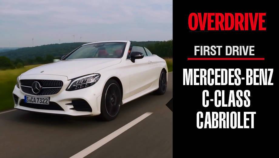 First Drive - 2019 Mercedes-Benz C-Class Cabriolet