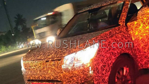 Upcoming Mahindra S201 sub-four metre SUV spied with projector headlamps and LED tail lamps