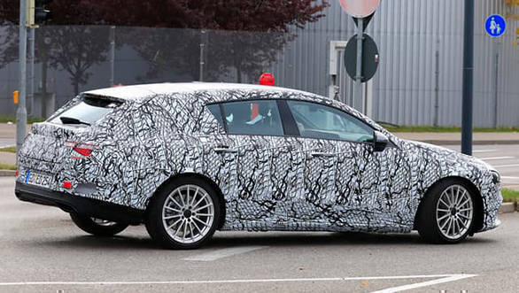 Spied 2019 Mercedes Benz Cla Sedan Caught Testing Overdrive