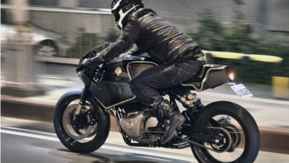 Video: Custom Royal Enfield Continental GT 650 parallel twin by