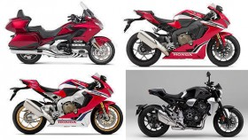 2019 Honda CB1000R+, Gold Wing Tour DCT, CBR1000RR Fireblade and CBR1000RR Fireblade SP launched in India