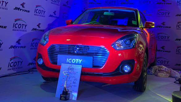 The Indian Car Of The Year Icoty 2019 Is The Maruti Suzuki Swift