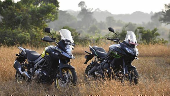 Suzuki V-Strom 650 XT vs Kawasaki Versys 650 comparison test - Overdrive