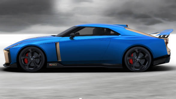 The Nissan GT-R50 by Italdesign concept is headed to ...