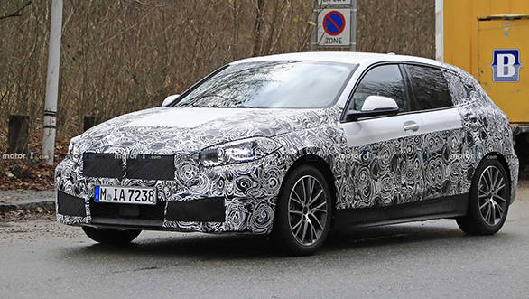 2019 Bmw 1 Series Spied Reveals Updated Styling Overdrive