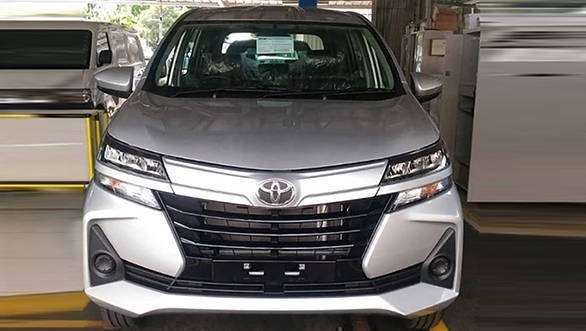 Toyota Avanza Mpv Facelift Images Leaked Before Official Launch