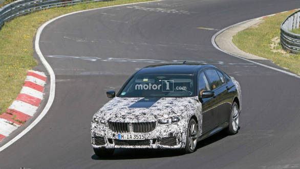 BMW 7 Series Facelift Leaked. Shows New Face