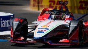 2019 FE: Mahindra Racing driver Pascal Wehrlein second at Santiago
