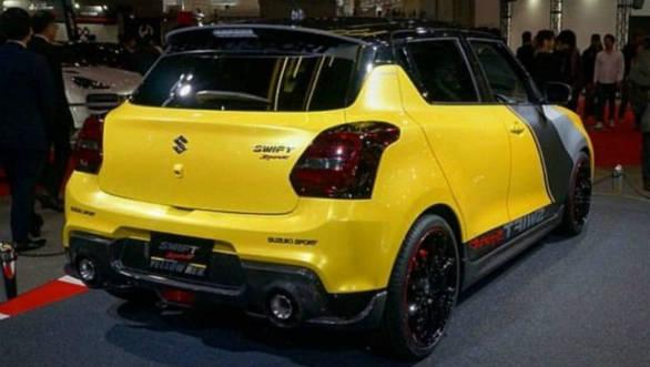 2019 Tokyo Auto Salon: Suzuki's Swift Sport Yellow Rev Concept is