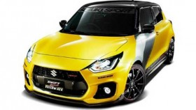 2019 Tokyo Auto Salon: Suzuki's Swift Sport Yellow Rev Concept is out