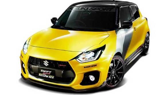 2019 Tokyo Auto Salon Suzuki S Swift Sport Yellow Rev Concept Is