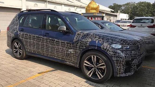 Upcoming 2019 Bmw X7 Suv Spotted Testing In India Overdrive