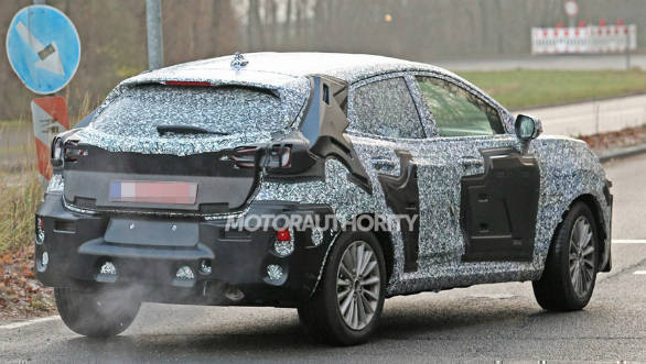 2020 Ford EcoSport Spy Photos And New Generation >> Next Generation Ford Ecosport Suv Spotted Testing Overdrive