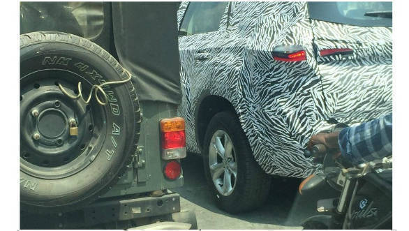 Tata Harrier Based Seven Seater H7X Spied On Test