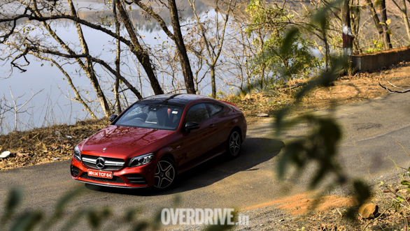 Mercedes-AMG C43 coupe road test review - Overdrive