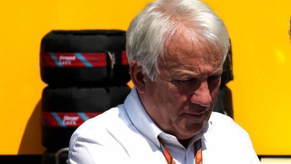 Formula One boss Charlie Whiting dies suddenly aged 66