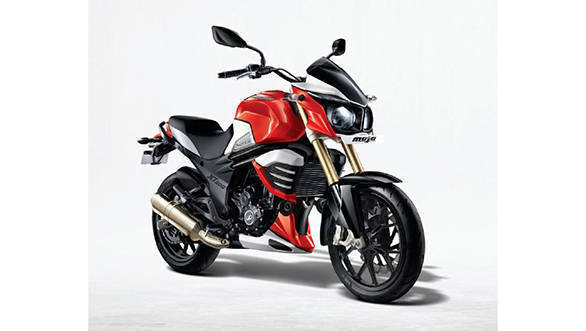 Picture of the older Mahindra Mojo 300 for reference OVERDRIVE
