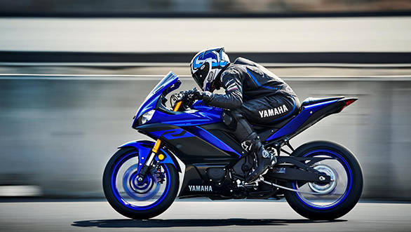 Second generation 2019 Yamaha YZF-R3 showcased at Bangkok