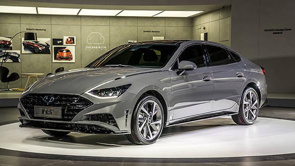 2019 New York International Auto Show 2020 Hyundai Sonata