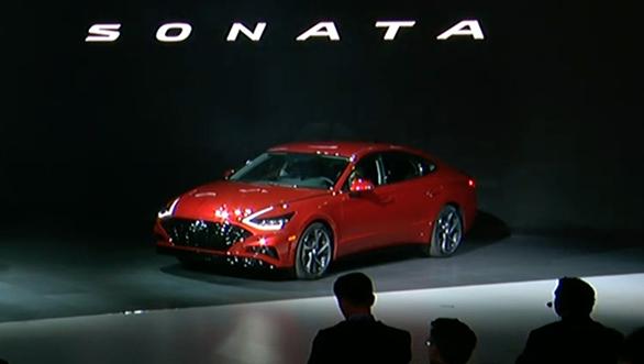 2019 New York International Auto Show 2020 Hyundai Sonata Unveiled