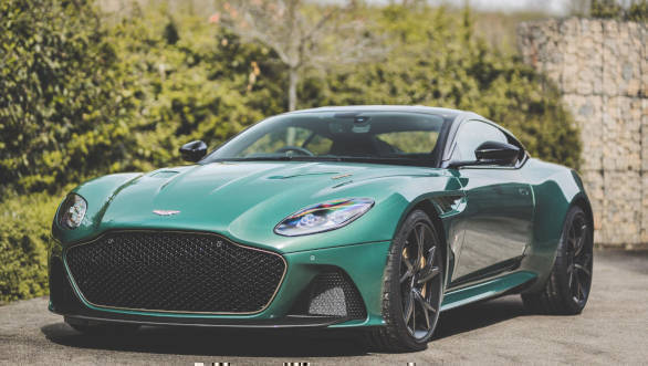 Aston Martin DBS 59 celebrates the brand's racing history