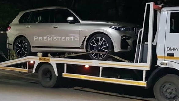 2019 Bmw X7 Suv Spotted In Pune India Launch Soon