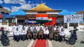 Royal Enfield flags off Himalayan Heights expedition to Karakoram Pass