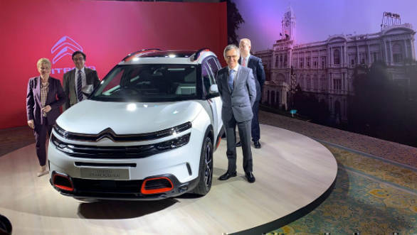 Citroen C5 Aircross Suv India Launch By September 2020 Brand