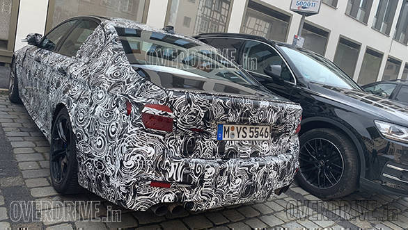 World Exclusive 2020 Bmw M5 Facelift Spied Under Camouflage Overdrive
